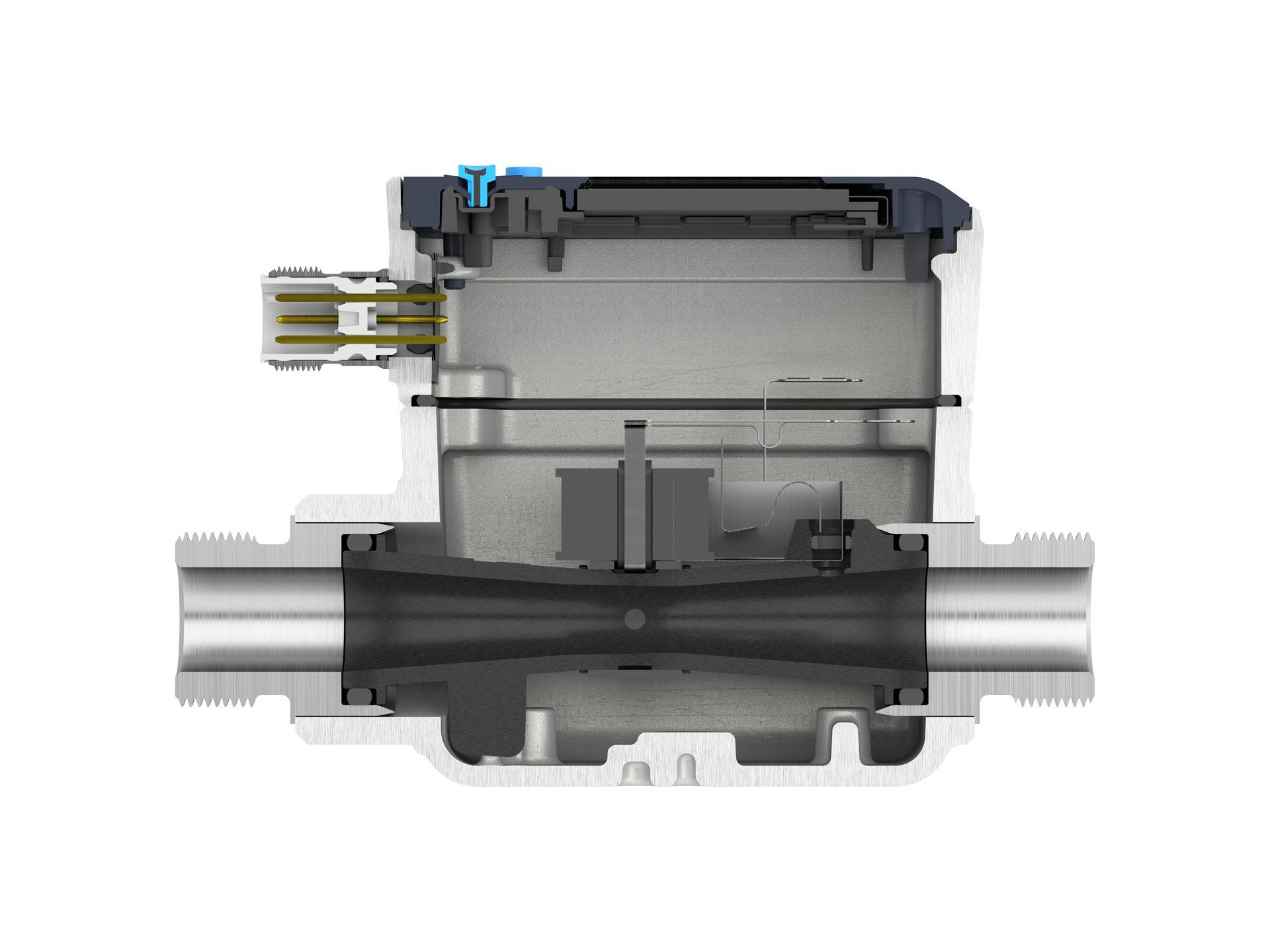 Round bore sensor design
